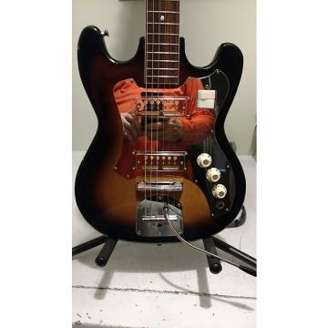 Custom RARE Knox (Teisco) twin goldfoil guitar Vintage 60's Sunburst