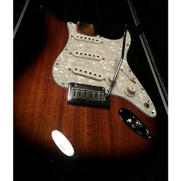 Custom Fender Stratocaster   Koa Sunburst