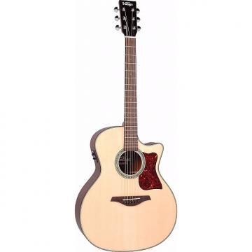 Custom Vintage VGA900N Grand Auditorium Sweetwater Acoustic/Electric Guitar