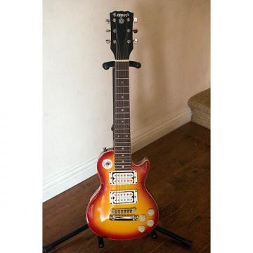 Custom Lotus Vintage Mini Les Paul Guitar Electric EG-LP 1980s Cherry Sunburst
