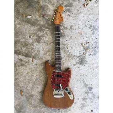 Custom Fender Mustang 1967 Brown Natural