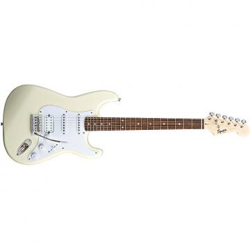 Custom Squier Bullet® Strat® with Tremolo HSS Arctic White