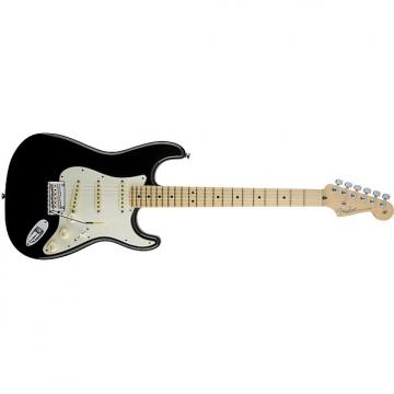 Custom Fender American Standard Stratocaster® Maple Fingerboard Black - Default title