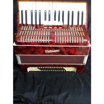 Custom accordeon weltmeister (RED)