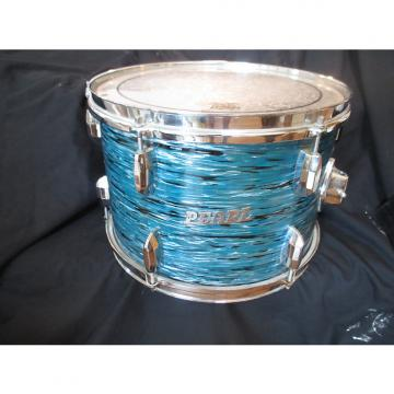 Custom Pearl Vintage 13 x 9 Tom, Blue Oyster, Japan Made, 1968 Excellent Condition!