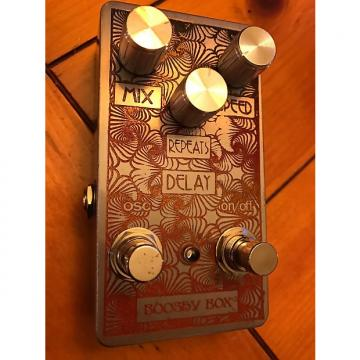 "Custom Joe parker custom Joe parker ""Booshy Box"" Delay w/ oscillation (plus bonus !)"