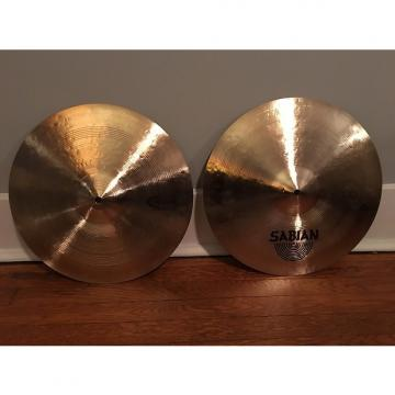 "Custom Sabian  15"" Fat Hats"