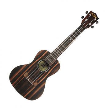 Custom Kala EBY-C Ebony Concert Ukulele