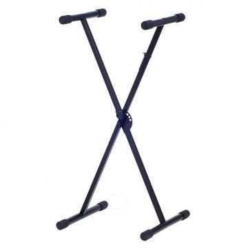 Custom Xtreme X-Style Single Braced 64-98cm Keyboard Stand