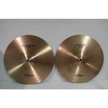 Custom ZILDJIAN  NEW BEAT HI HATS 15'' NICE SHAPE clean hi hats