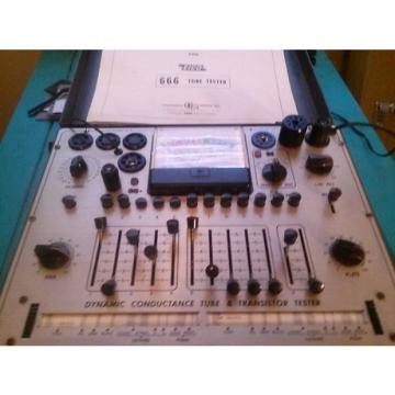 Custom EICO PRO TUBE TESTER EICO 1967 TUBE TESTER EL84 12AX7. EXXI'S, ETC.