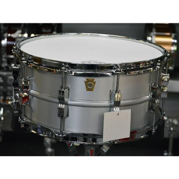 "Custom Ludwig 6.5""x14"" Acrolite Snare Drum - Keystone badge"