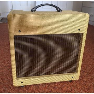 "Custom Therdrail Amps Tweed Princeton - Vintage 10"" Alnico Speaker+Vintage Tubes and Transformer"
