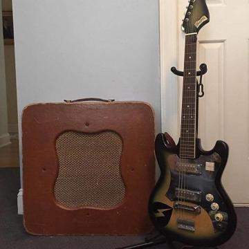 Custom Norma Green Machine 1967 Green Burst + Goldfoils + Gig Bag