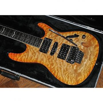 Custom 2004 Ibanez S470DXQM Quilted Maple - Wizard II Neck - ZR Tremolo - Black Chrome - Ibanez Hardcase