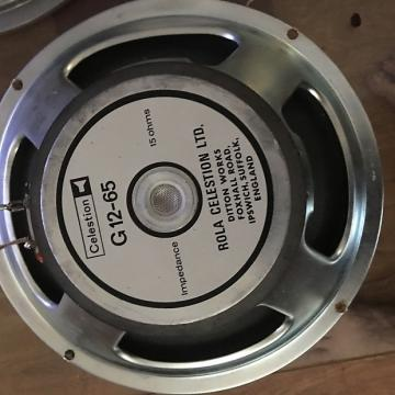 Custom Celestion Celestion G12 65 Older UK Made