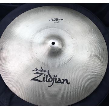 """Custom Zildjian 17"""" Medium Crash Factory Finish"""