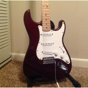 Custom Fender Stratocaster 2004 Red Wine