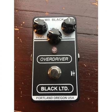 Custom Mr. Black Overdriver black