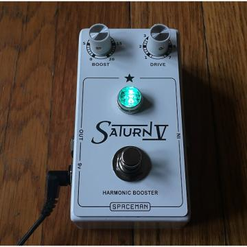 Custom Spaceman Effects Saturn V (55 Of 66) 2010s White with Turquoise jewel light