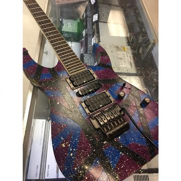 Custom Ibanez  Rg5ex1 2008 Custom paint evh graphic