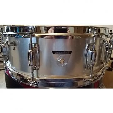 Custom Ludwig Standard  Late 1968 thru 1970 Grey Brushed Aluminum with original case and stand