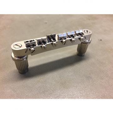 Custom Epiphone  ABR-1 style tone lock bridge 2016 Nickel