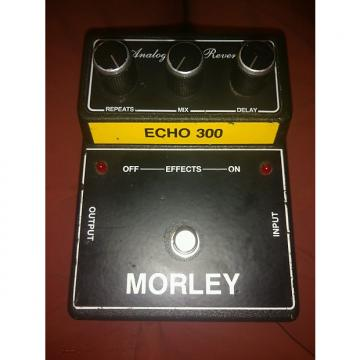 Custom Morley Analog Echo Reverb 90s Black