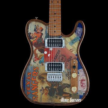 "Custom Walla Walla Guitar Maverick Pro Crystal ""Tone Ranger"" Tele Guitar Telecaster"