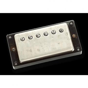 Custom Seymour Duncan Antiquity Humbucker Neck Position Nickel Cover Aged Nickel
