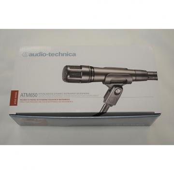 Custom Audio-Technica ATM650 Hypercardioid Dynamic Instrument Microphone