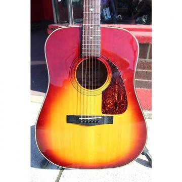 Custom Fender F-220 SB Acoustic Guitar