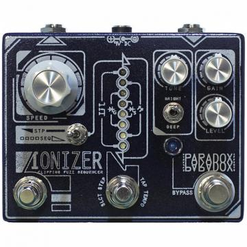 Custom Paradox Ionizer Clipping Fuzz Sequencer Guitar Effect Pedal Stompbox Foot Switch