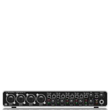 Custom Behringer U-PHORIA UMC404HD - USB 2.0 Audio/MIDI Interface - Mint Condition with 6 Month Alto Music Warranty!