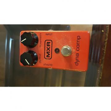 Custom MXR Dyna Comp  Red