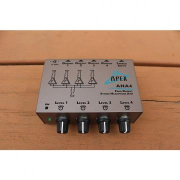 Custom APEX AHA4 Four Output Stereo Headphone Amplifier
