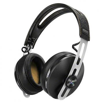 Custom Sennheiser HD 1 Wireless Over-Ear Black Headphones w/ NoiseGard Bluetooth Mic