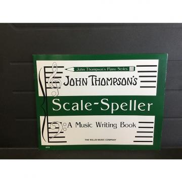 Custom John Thompson's Scale-Speller