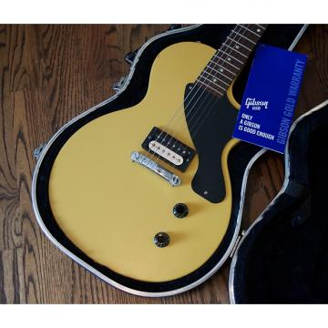 Custom 2011 Gibson Les Paul Jr w/ Factory Coil Split Zebra Humbucker Electric Guitar w/ SKB Case