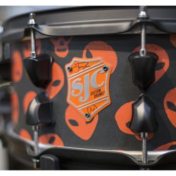 Custom SJC Custom Josh Dun 6x14 Signature Snare Drum