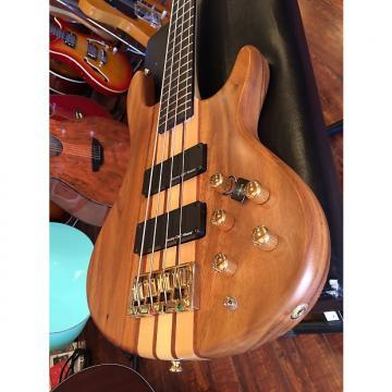 Custom 2017 Wolf 4W Satin Walnlut 4 String Active/Passive Bass