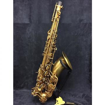 Custom Eastman 52nd Street Tenor Saxophone Unlacquered