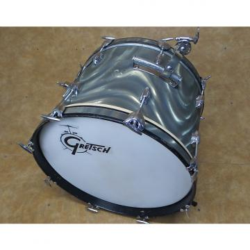 Custom Gretsch 14x20 Bass Drum 1960's Moonglow Satin Flame