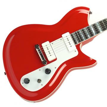 Custom Rivolta Guitars Combinata Standard - Pomodoro Red Metallic