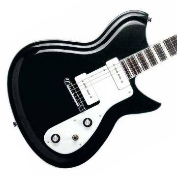 Custom Rivolta Guitars Combinata Standard - Toro Black Metallic