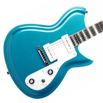Custom Rivolta Guitars Combinata Standard - Adriatic Blue Metallic