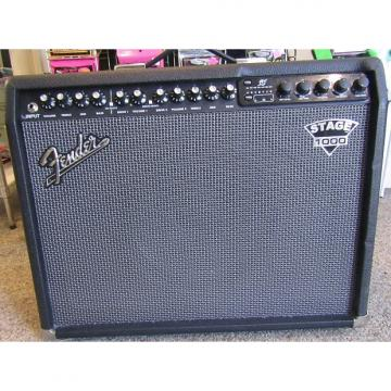 Custom Fender Dyna-Touch III Stage 1000 Guitar Combo Amp w/footswitch