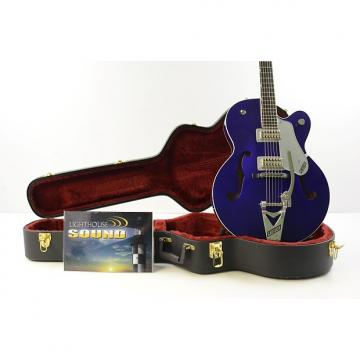 Custom Gretsch G6120SH Brian Setzer Hot Rod Electric Guitar - Purple w/OHSC