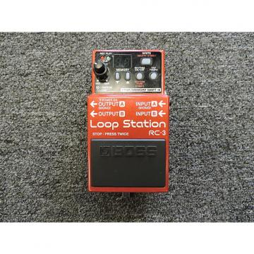Custom Boss RC-3 Loop Station Guitar Effects Pedal