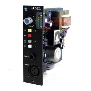 Custom API 512c 500 Series Mic Preamp